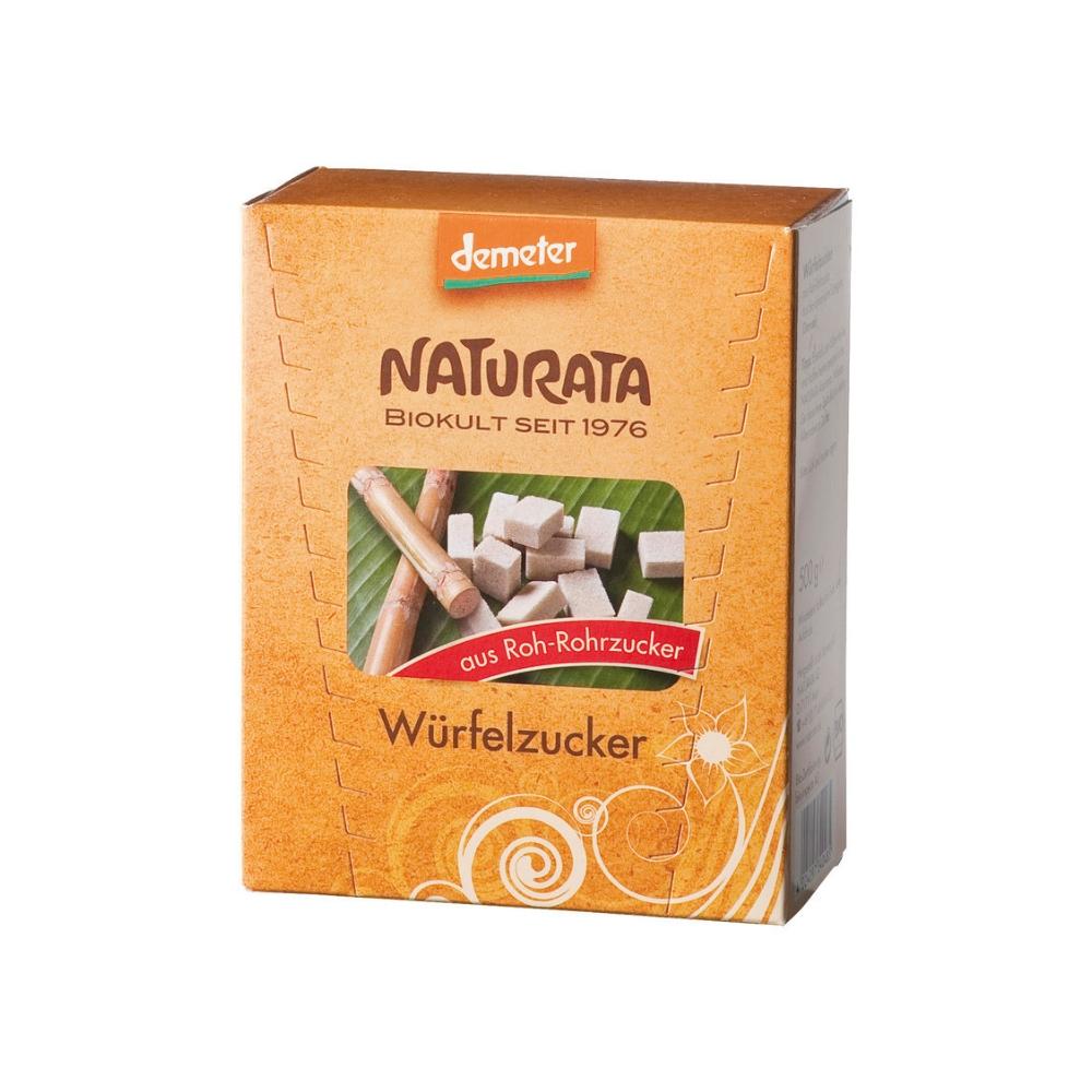 Đường mía hữu cơ dạng viên 500g - Naturata