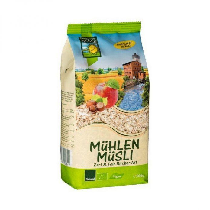 Ngũ cốc Muesli vị sôcôla hữu cơ 500g - Bohsener New