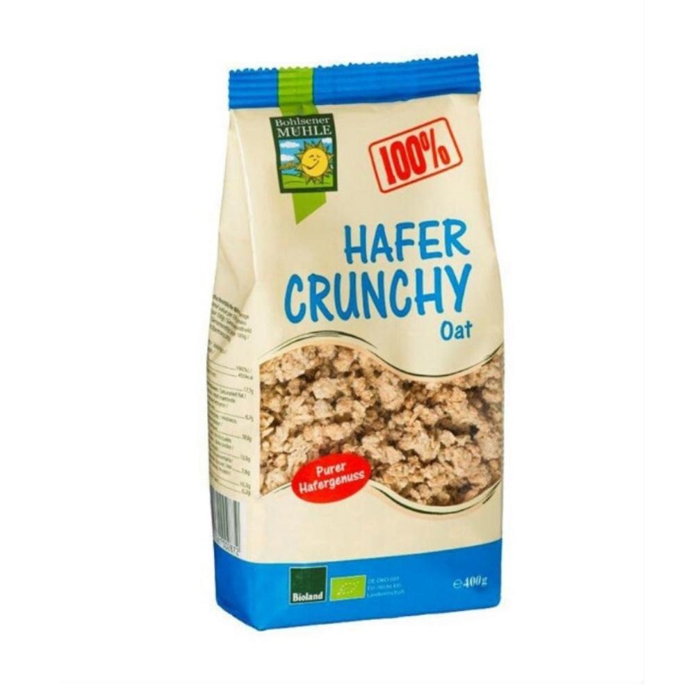 Ngũ cốc Crunchy yến mạch hữu cơ 400g - Bohsener New