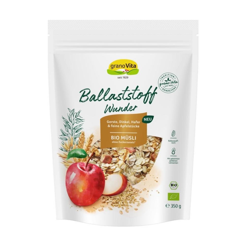 Ngũ cốc hỗn hợp táo , chà là hữu cơ 350g - Granovita New