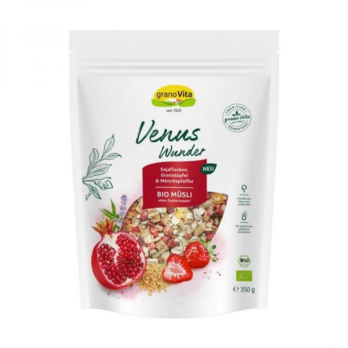 Ngũ cốc hỗn hợp đậu nành, lựu, chasteberry hữu cơ 350g - Granovita New