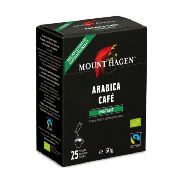 Cà phê hòa tan hữu cơ Arabica gói 2g - Mount Hagen New
