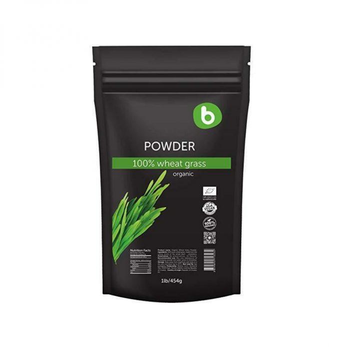 Bột cỏ lúa mì hữu cơ 454g - Bobica 2