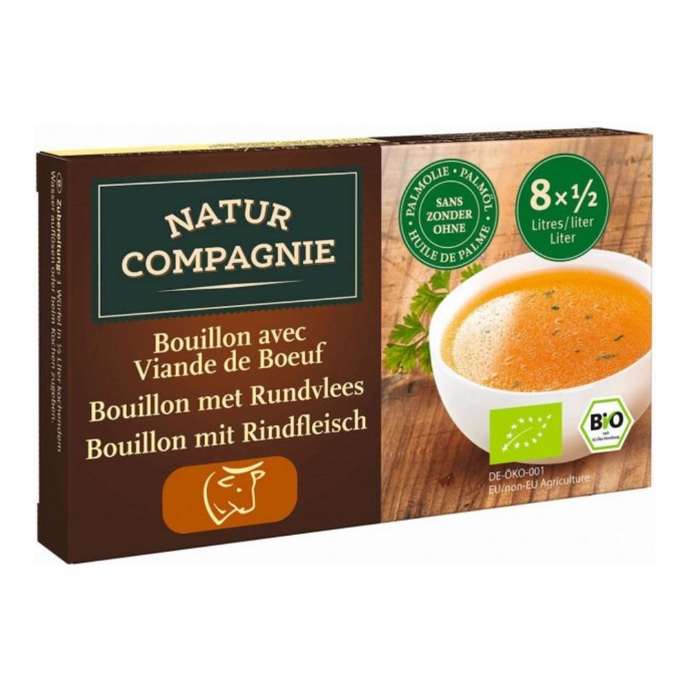 Bột soup hữu cơ vị bò 88g - Natur Compagnie