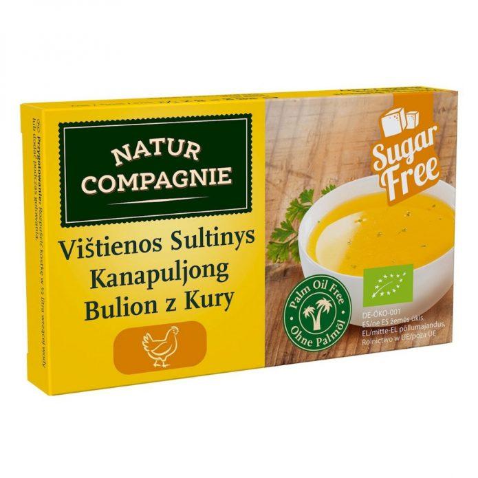 Bột soup hữu cơ vị gà 88g - Natur Compagnie