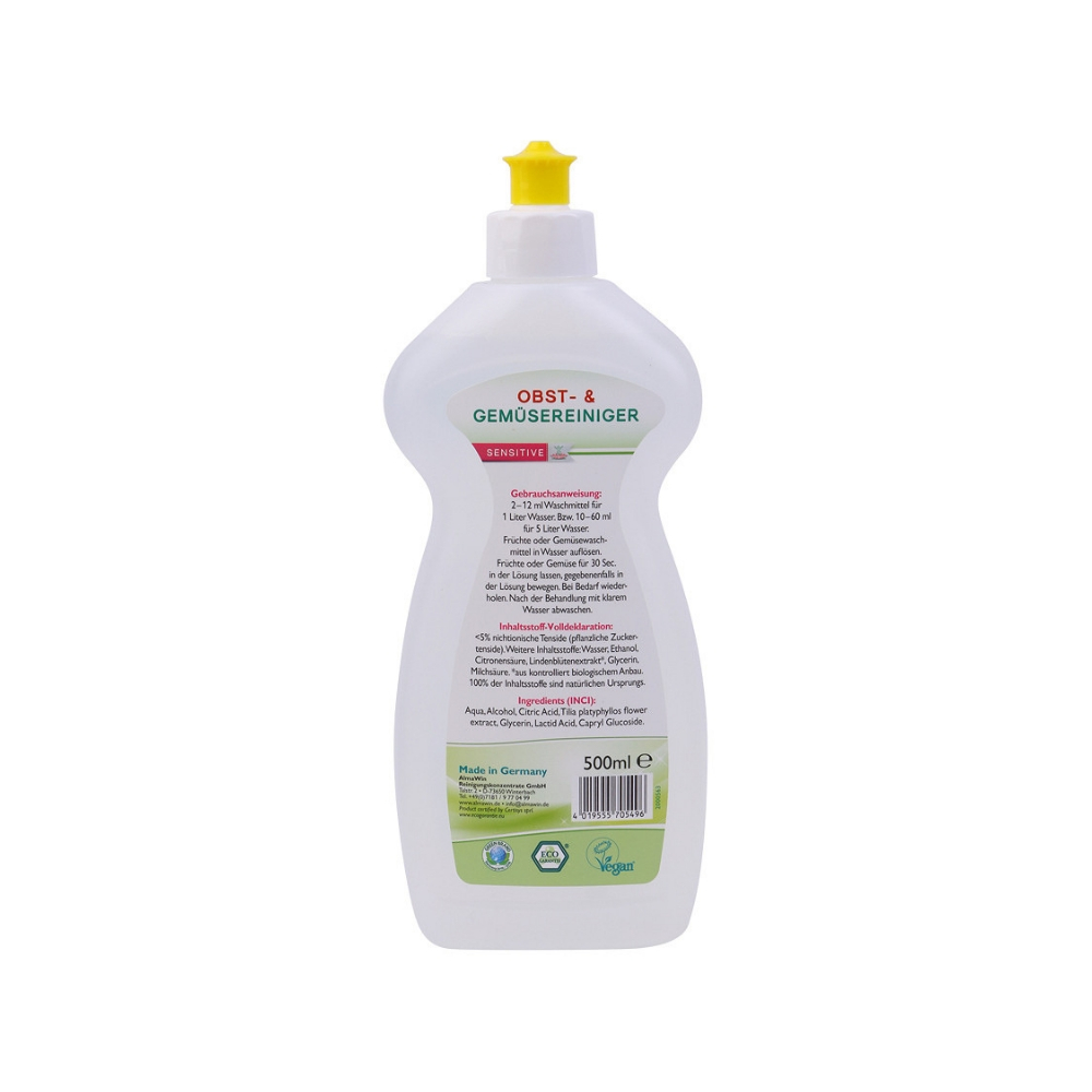 Dung dịch hữu cơ rửa rau quả 500ml - Almawin 1