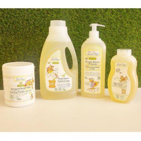 Dung dịch hữu cơ tẩy rửa đồ dùng cho bé 500ml - Pierpaoli 2