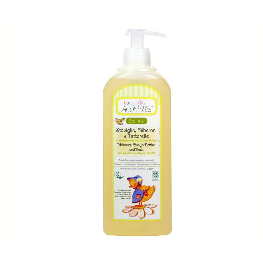 Dung dịch hữu cơ tẩy rửa đồ dùng cho bé 500ml - Pierpaoli