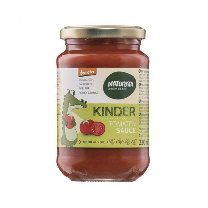 Sốt cà chua hữu cơ cho bé 330ml - Naturata