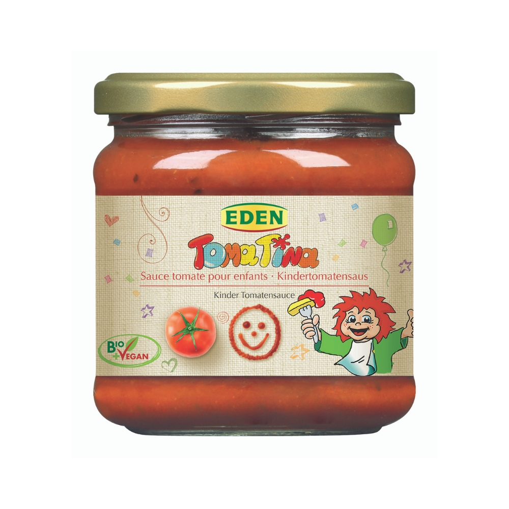 Sốt cà chua hữu cơ cho bé 375g - Eden