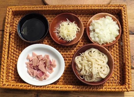 Mì ăn dặm Men No Sato kết hợp Jambon và phô mai 1
