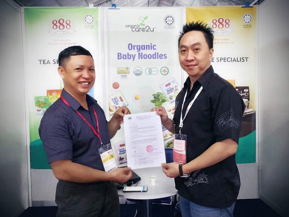 ký độc quyền Men No Sato - Organic Life