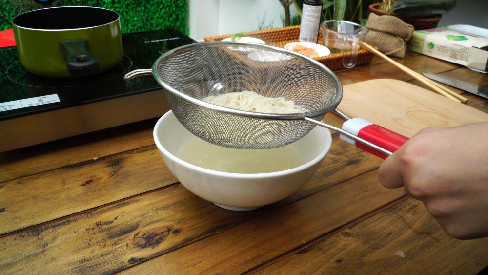 Mì hữu cơ Men No Sato với thịt gà và nước Dashi5