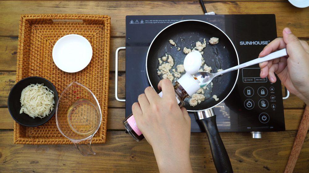 Mì hữu cơ Men No Sato với thịt gà và nước Dashi567