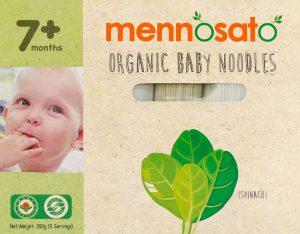 Mì ăn dặm hữu cơ cho bé vị cải bó xôi 2