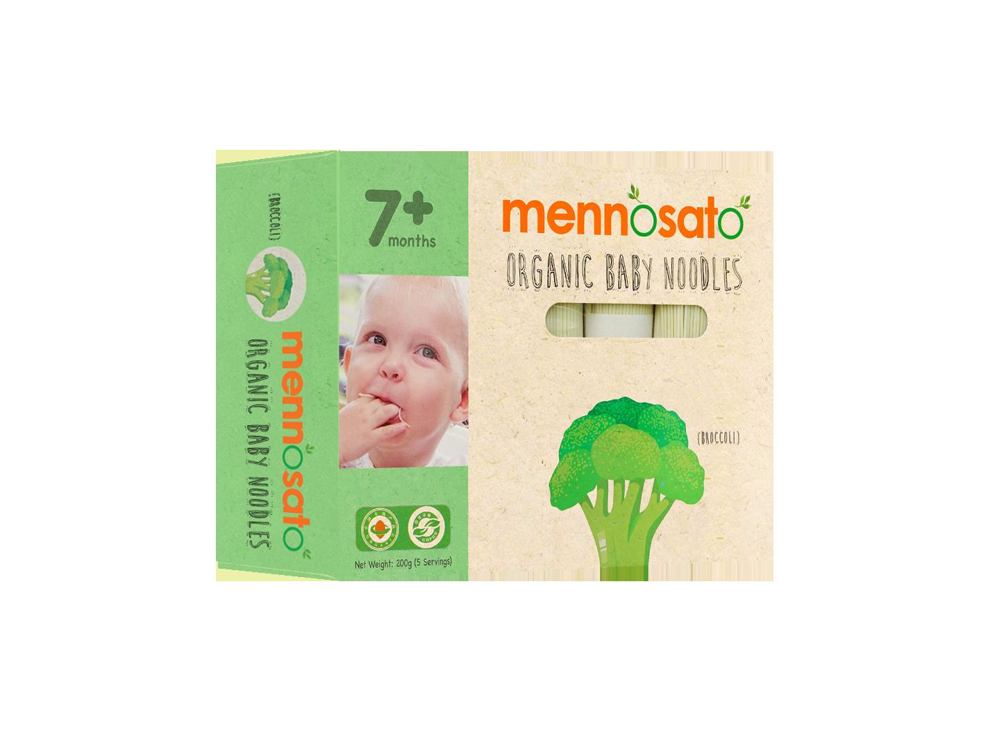Mì ăn dặm hữu cơ cho bé vị bông cải xanh 4