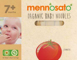 Mì ăn dặm hữu cơ cho bé vị cà chua 2