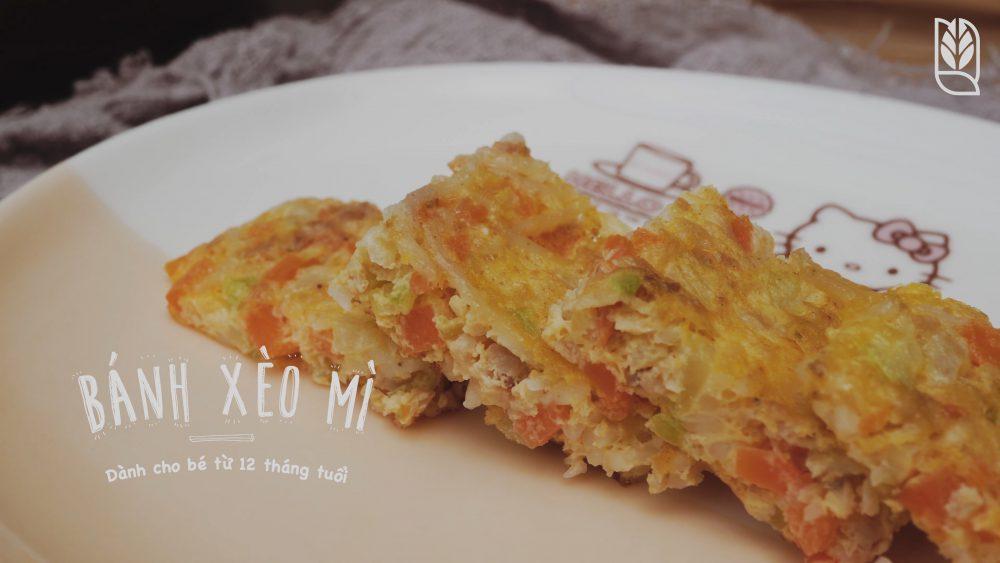 Nguyên Liệu làm bánh xèo ăn dặm Men No Sato 15