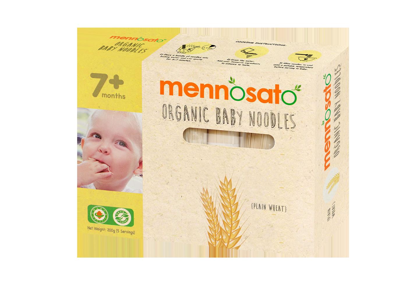 Mì ăn dặm hữu cơ cho bé vị lúa mì 1