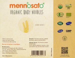 Mì ăn dặm hữu cơ cho bé vị lúa mì 3