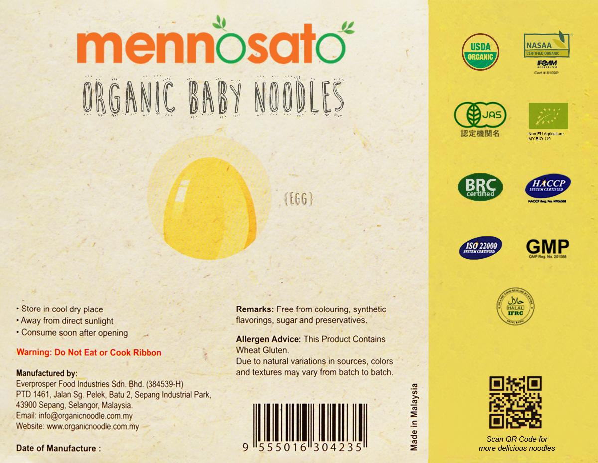 Mì ăn dặm hữu cơ cho bé vị trứng 3