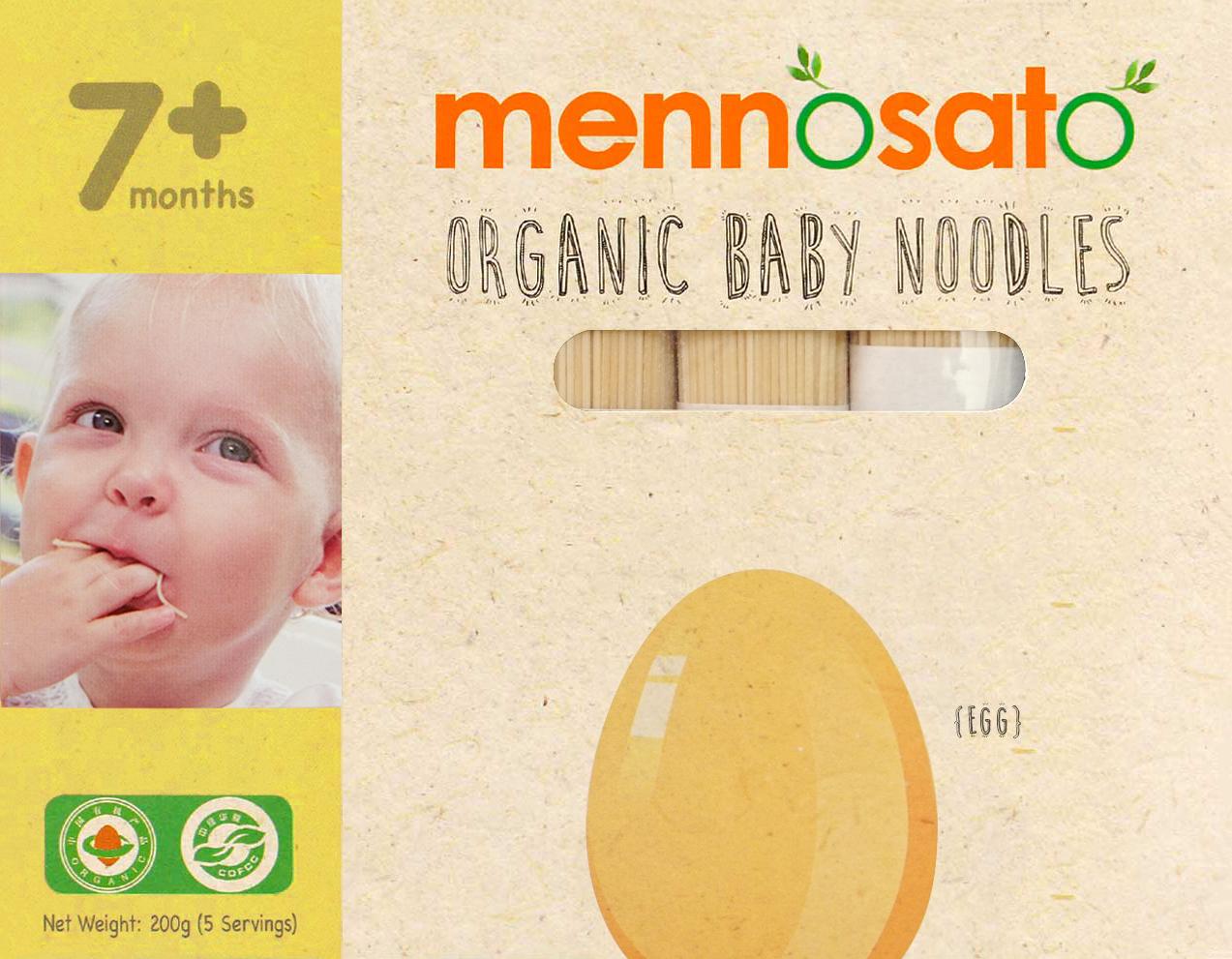 Mì ăn dặm hữu cơ cho bé vị trứng 2
