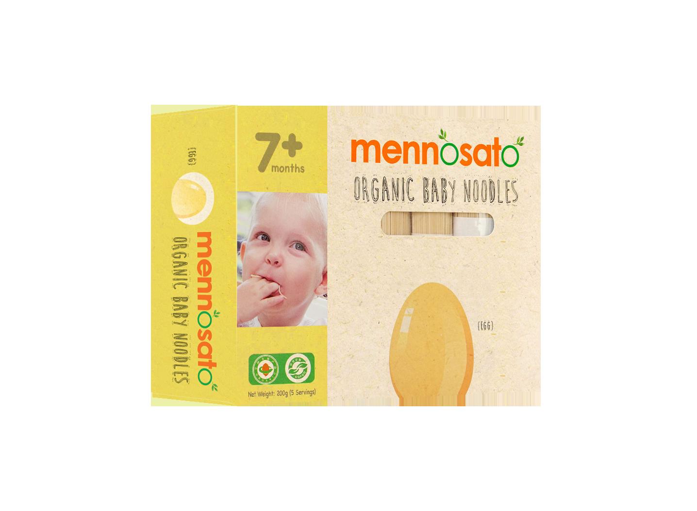 Mì ăn dặm hữu cơ cho bé vị trứng 4