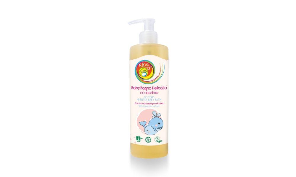 Sữa tắm hữu cơ cho bé không cay mắt 400ml - Pierpaoli6