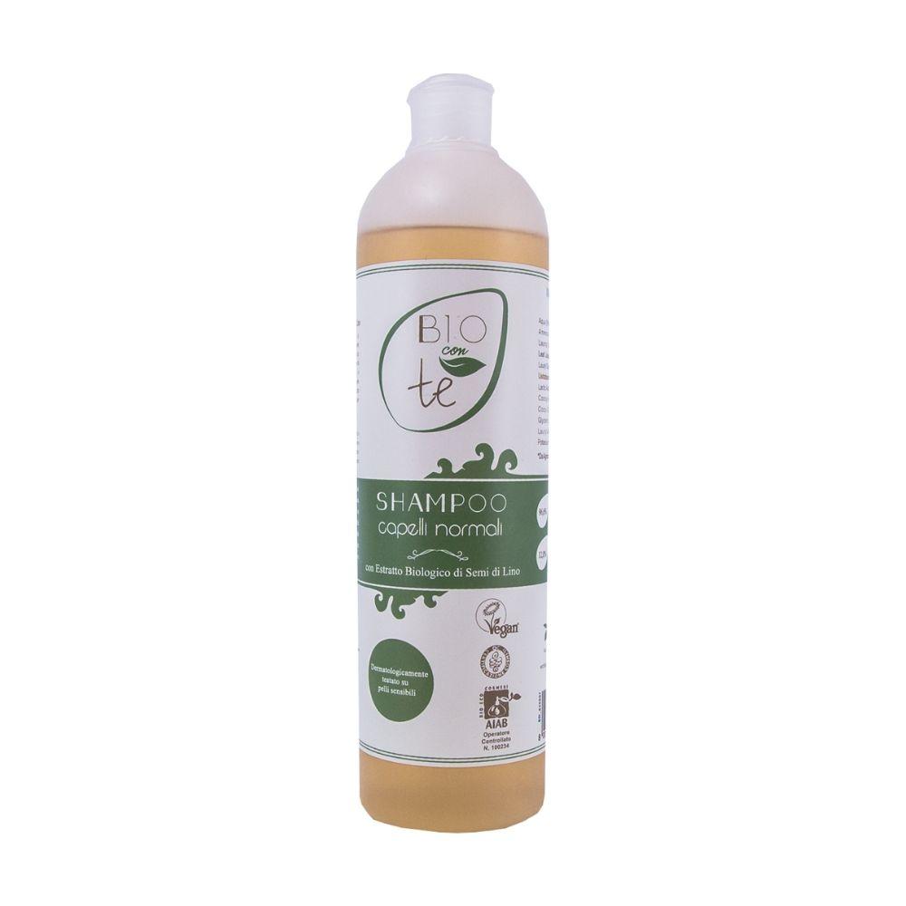 Dầu gội hữu cơ chiết xuất lô hội và hạt lanh 500ml - Pierpaoli