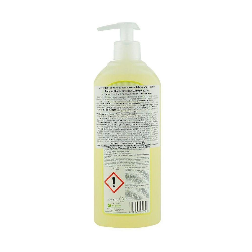 Dung dịch hữu cơ tẩy rửa đồ dùng cho bé 500ml - Pierpaoli B