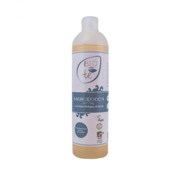 Gel tắm hữu cơ chiết xuất bu-lô và lô hội cho da nhạy cảm 500ml - Pierpaoli (2)