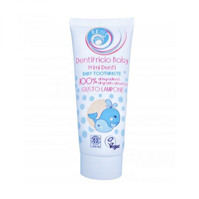 Kem đánh răng hữu cơ cho bé chiết xuất hoa cúc và mâm xôi 75ml - Pierpaoli