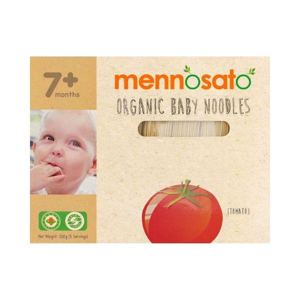 Mì ăn dặm hữu cơ cho bé vị cà chua Men No Sato 2