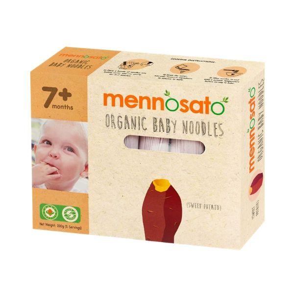 Mì ăn dặm hữu cơ cho bé vị khoai lang 4