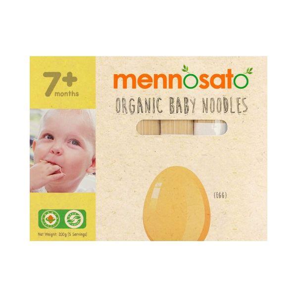 Mì ăn dặm hữu cơ cho bé vị trứng -Men No Sato 2