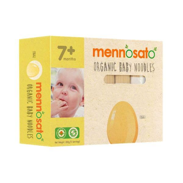 Mì ăn dặm hữu cơ cho bé vị trứng -Men No Sato