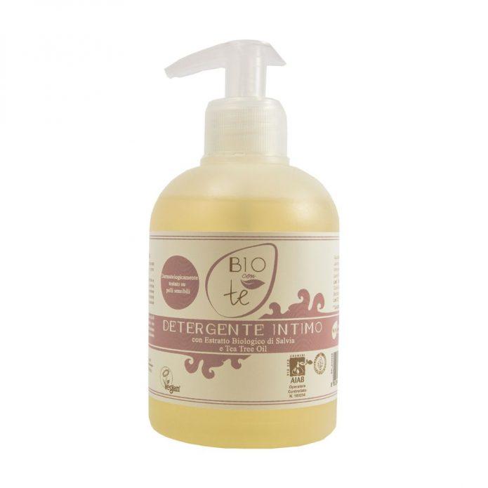 Sữa tắm hữu cơ chiết xuất lô hội và dầu trà 300ml - Pierpaoli