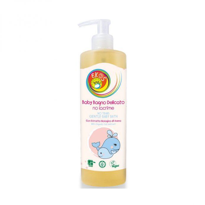 Sữa tắm hữu cơ cho bé không cay mắt 400ml - Pierpaoli