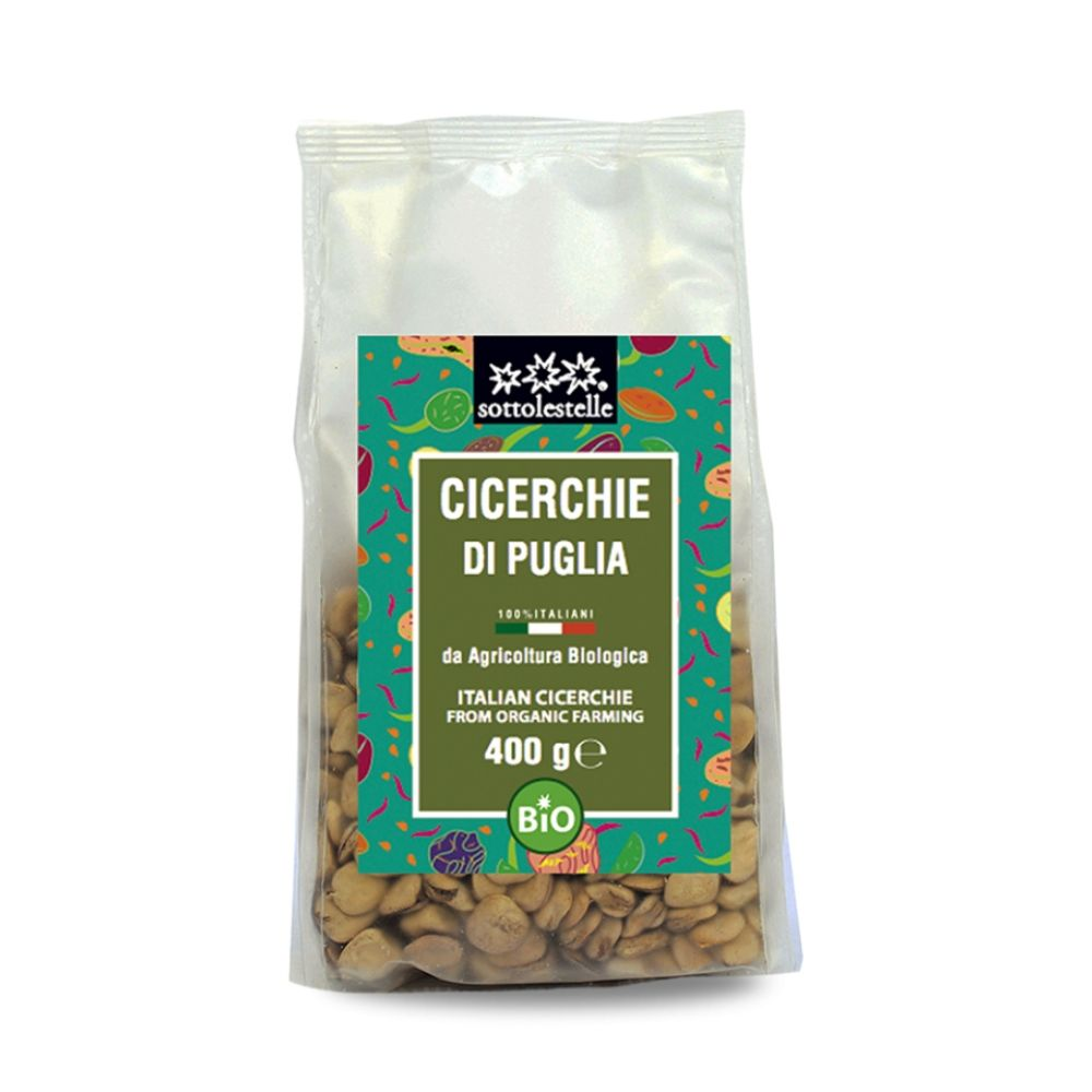 Đậu Cicerchie ( Grass Pea ) hữu cơ Sotto 400g A