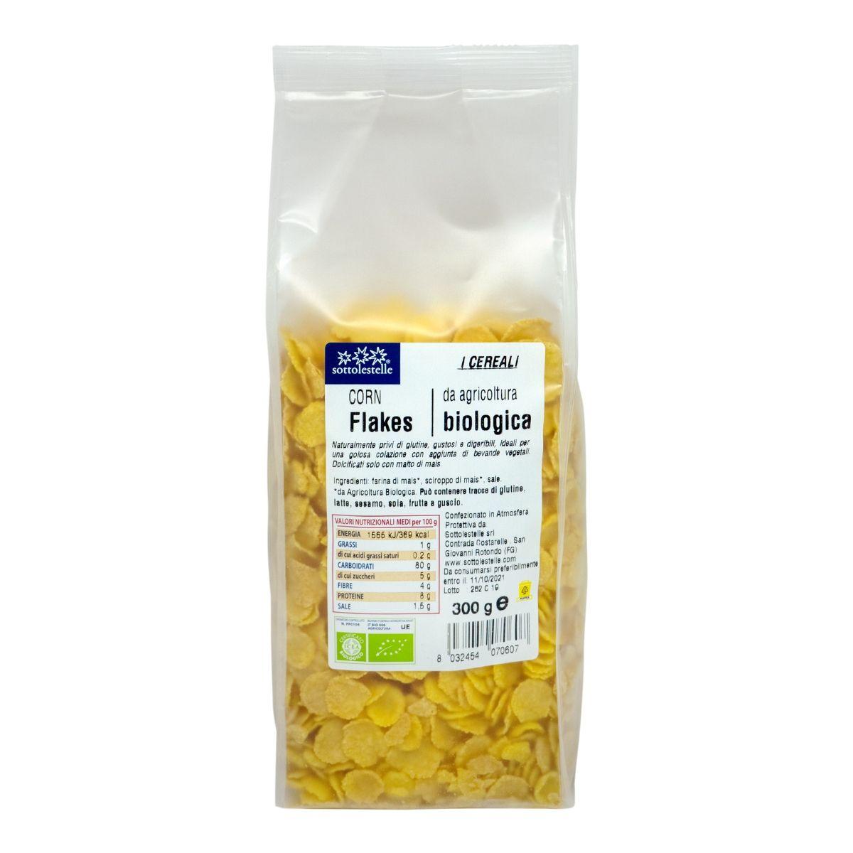 8032454070607 C Ngũ cốc hữu cơ bắp ngô cán dẹp Sotto 300g - Corn Flakes