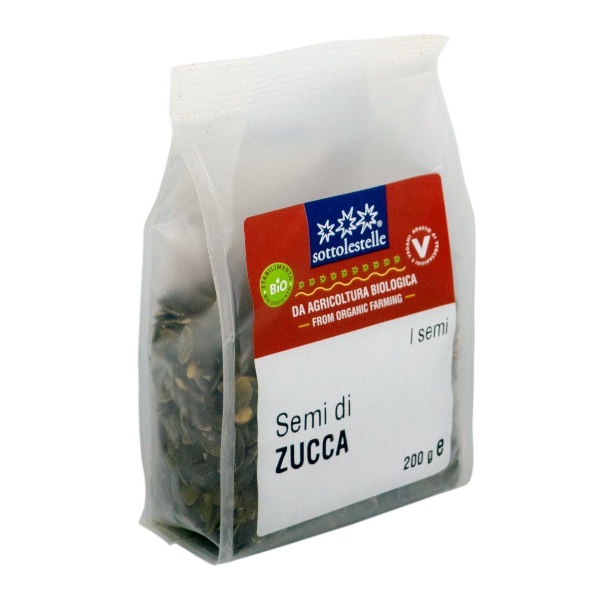 8032454070683 B Hạt bí hữu cơ đã bóc vỏ Sotto 200g - Semi di zucca