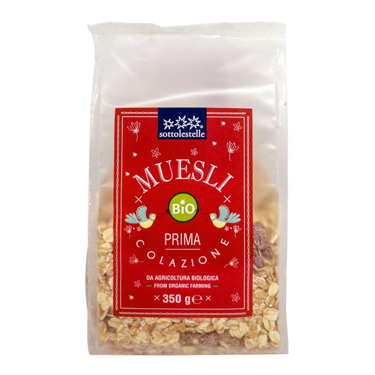 8032454071550 A Ngũ cốc dinh dưỡng Muesli hạnh nhân hữu cơ Sotto 350g - Muesli Prima Colazione