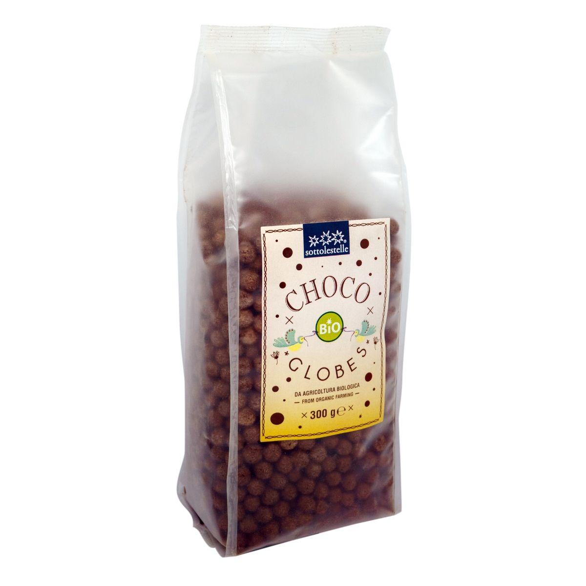 8032454071680 B Ngũ cốc hữu cơ socola dạng viên Sotto 300g Choco Globes 300g