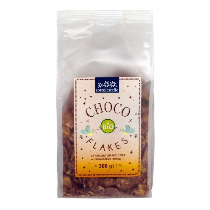 8032454071703 A Ngũ cốc hữu cơ bắp ngô socola Sotto 300g - Choco Flakes