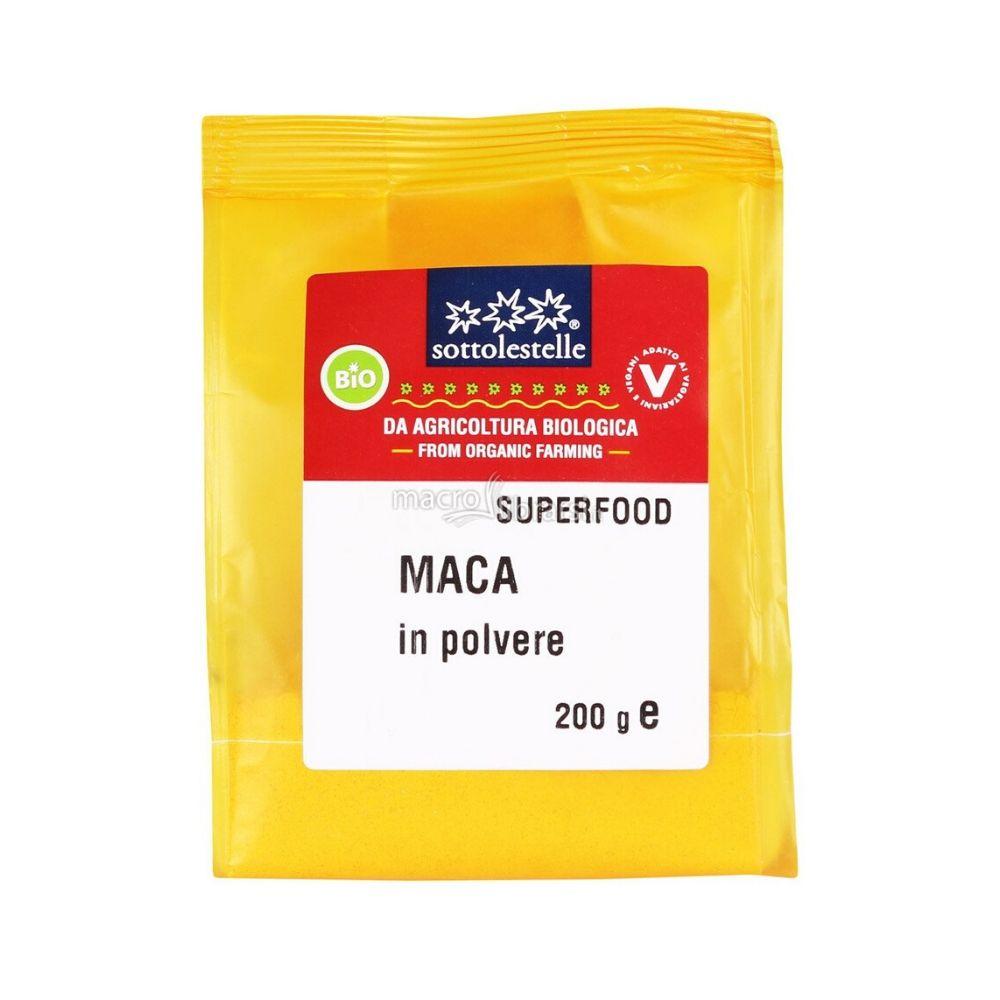 Bột Maca (Nhân sâm Peru) hữu cơ Sotto 200g A