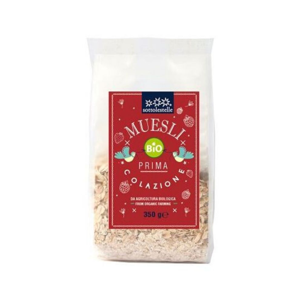 Ngũ cốc dinh dưỡng Muesli hạnh nhân hữu cơ Sottolestelle350g