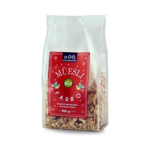 Ngũ cốc dinh dưỡng Muesli nho khô hữu cơ Sottolestelle 350g