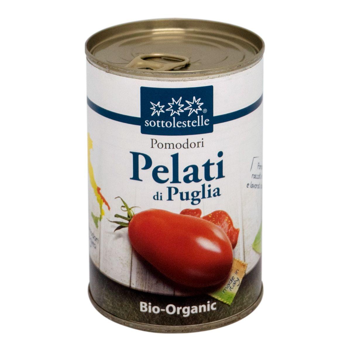 8032454001038 A Cà chua Ý hữu cơ bóc vỏ Sotto 400g - Pomodori Pelati di Puglia