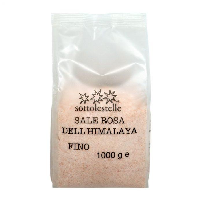 8032454071499 A Muối hồng mịn Himalaya Sottolestelle 1000g - Sale Rosa Himalayano Fino