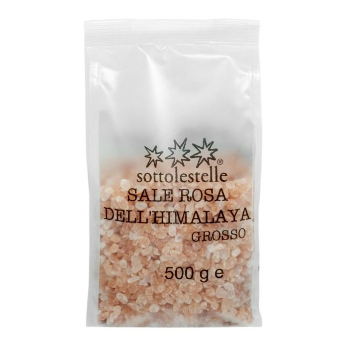 8032454071505 A Hạt Muối hồng Himalaya Sottolestelle 500g - Sale Rosa Himalayano Grosso